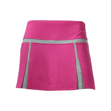 Bolle In the Pink Double Pleated Skirt - Electric Pink