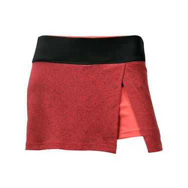 Bolle Moulin Rouge Front Slit Skirt - Rouge Heather