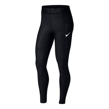 Nike Court Power Tennis Tights - Black