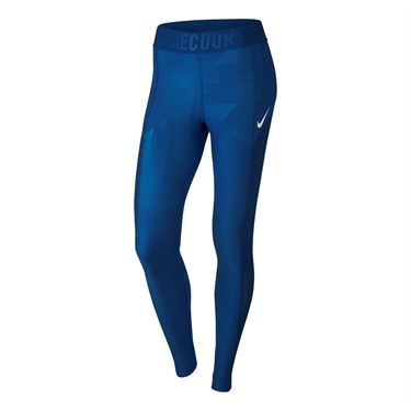 Nike Court Power Tennis Tights - Blue Jay