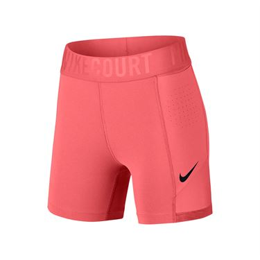 Nike Court Power Short - Lava Glow