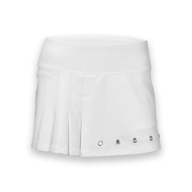 Bolle After Dark Side Pleated Skirt-White