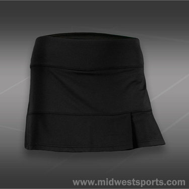 Bolle After Dark Side Pleated Skirt-Black