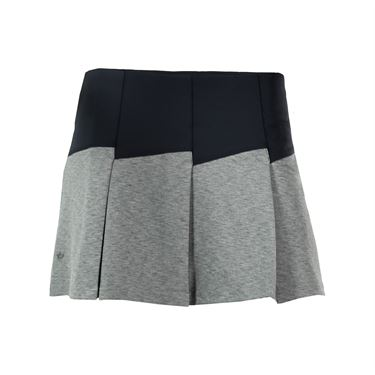 Bolle Priscilla Pleated Skirt - Grey Heather