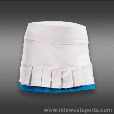 Bolle Curacao Pleated Skirt-White