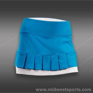 Bolle Curacao Pleated Skirt-Curacao Blue