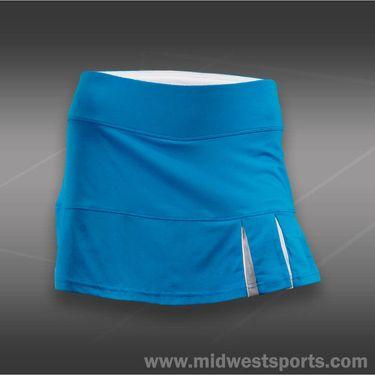 Bolle Curacao Side Pleat Skirt-Curacao Blue