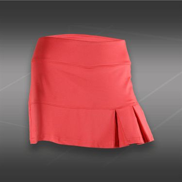 Bolle Cosmopolitan Side Pleated Skirt-Coral