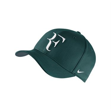 Nike Court AeroBill RF Tennis Hat - Dark Atomic Teal