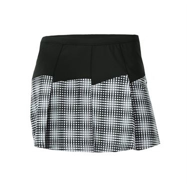 Bolle Raquel Printed Pleated Skirt - Black/White