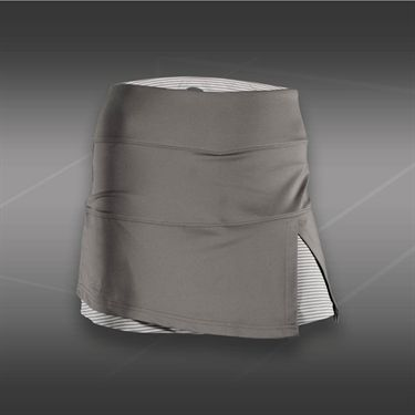 Bolle Manhattan Front Slit Skirt -White