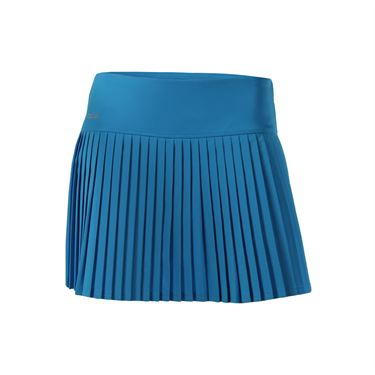 Bolle Angelina Accordian Pleated Skirt - Blue