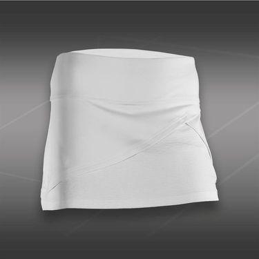 Bolle Cosmopolitan Front Wrap Skirt-White