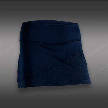 Bolle Cosmopolitan Front Wrap Skirt-Navy