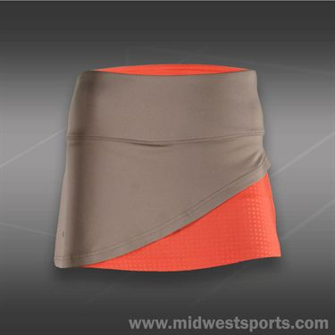Bolle Wild Fire Front Overlap Skirt - Taupe