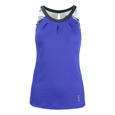 Bolle Adrienne Scoop Neck Tank - Water