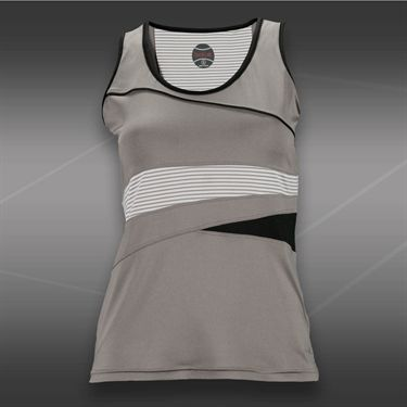 Bolle Manhattan Scoop Neck Tank-Taupe