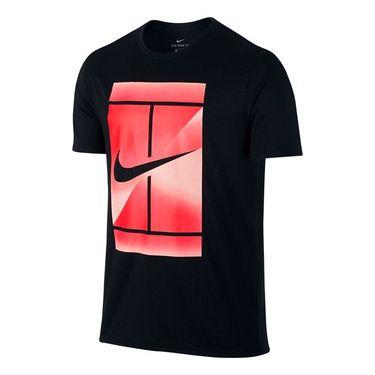 Nike Court Dry Tennis Tee - Black