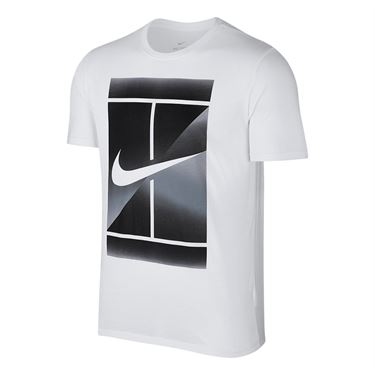 Nike Court Dry Tennis Tee - White