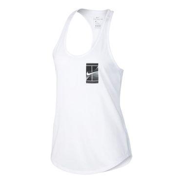 Nike Court Dry Tennis Tank - White