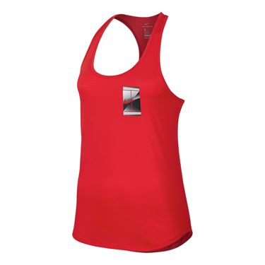 Nike Court Dry Tennis Tank - Action Red