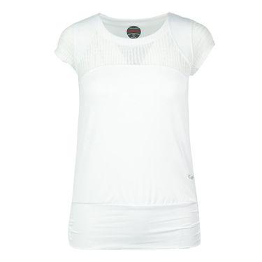 Bolle Sofia Cap Sleeve Top - White