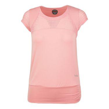 Bolle Sofia Cap Sleeve Top - Pink