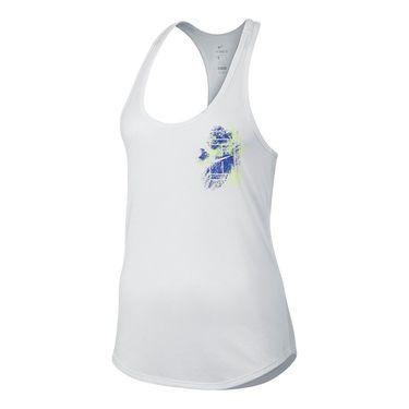 Nike Dry Splatter Tank - White