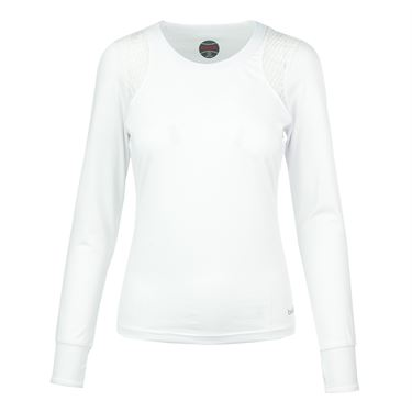 Bolle Sofia Long Sleeve Top - White