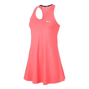 Nike Court Pure Dress - Lava Glow/White