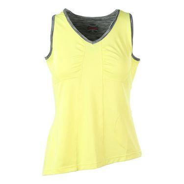 Bolle Melange V Neck Tank - Yellow