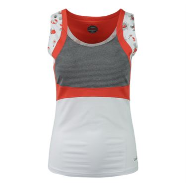 Bolle Margaux Scoop Neck Tank - White