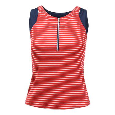 Bolle All American Zipper Tank - Bolle Red