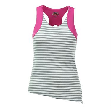 Bolle In the Pink Racerback Tank - White