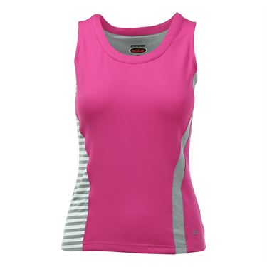 Bolle In the Pink Scoop Neck Tank - Electric Pink