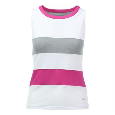 Bolle In the Pink High Neck Tank - White