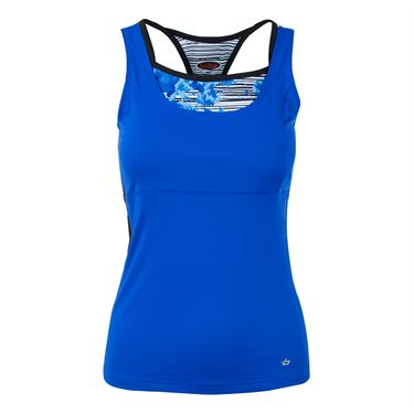 Bolle Picasso Double Strap Racerback Tank - Royal