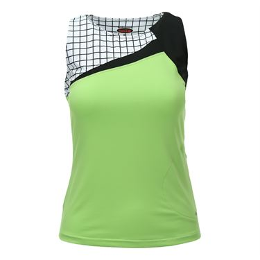 Bolle Twist of Lime Crew Neck Tank - Lime