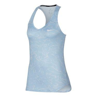 Nike Court Pure Printed Tank - Blue Tint