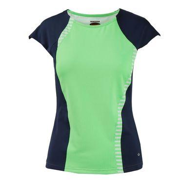 Bolle Penelope Cap Sleeve Top - Green