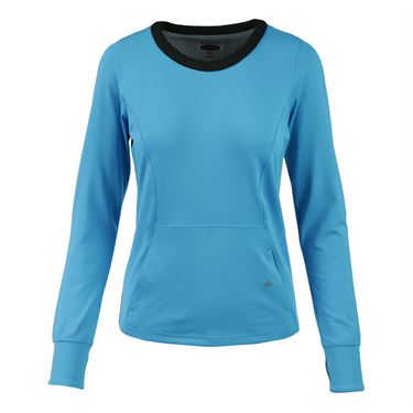Bolle Bella Long Sleeve Top - Vivid Blue