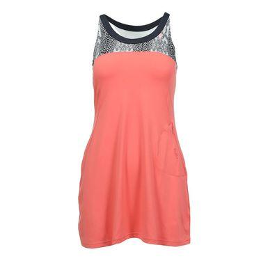 Bolle Serpentine Dress - Coral