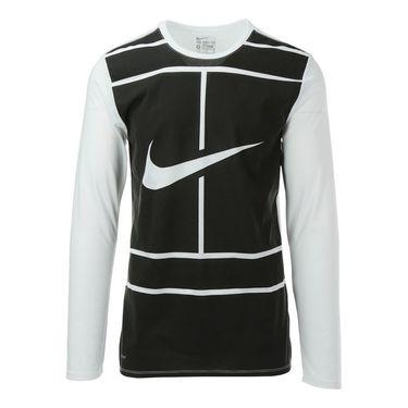 Nike Court Practice Tennis Crew - White
