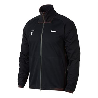 Nike RF Jacket - Black/Grey Heather/Lava Glow