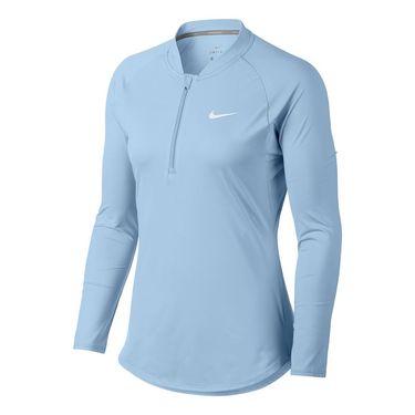 Nike Court Pure Tennis Top - Hydrogen Blue