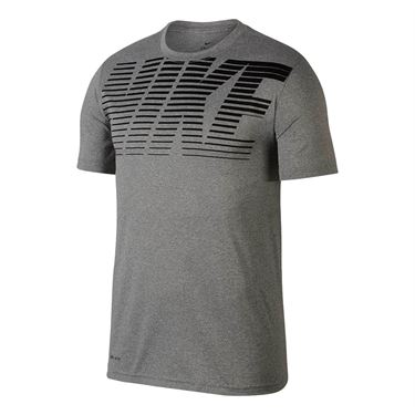 Nike Dry Legend Training Tee - Dark Grey Heather