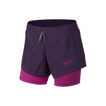Nike Girls Training Short - Grand Purple/Hyper Magenta