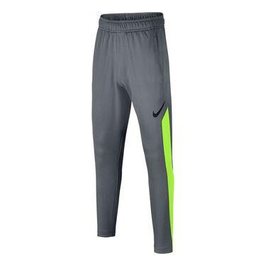 Nike Dry Boys Training Pant - Cool Grey/Volt/Black