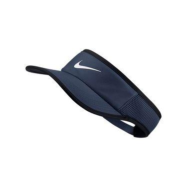 Nike Aerobill Feather Light ADJ Visor - Midnight Navy