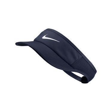 Nike Womens Aerobill Feather Light Visor - Obsidian